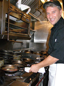 Executive Chef Brian Rutherford, Bistro Mezzaluna, Fort Lauderdale, Florida